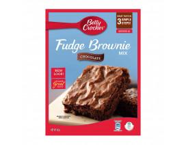 Betty Crocker Fudge Brownie Mix Chocolate - Case