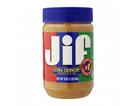 Jif Reduced Fat Crunchy Peanut Butter - Case