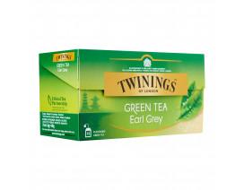 Twinings Earl Grey Green Tea 25's - Case