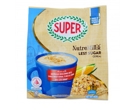 SUPER NUTREMILL 3-IN-1 INSTANT CEREAL DRINK - REDUCED SUGAR - Case