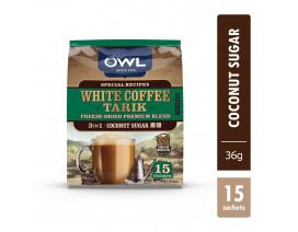 OWL WHITE COFFEE TARIK COCONUT SUGAR (MANDHELING) - Case