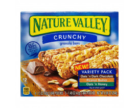 Nature Valley Granola Bar Crunchy Variety Pack - Case