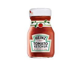Heinz Ketchup Mini Bottle (Buy 2 cases n get 1 free) - Case