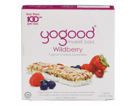 Yogood Wildberry Yoghurt Coated Muesli Bars - Case
