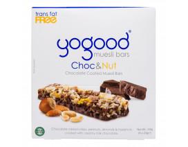 Yogood Chocolate & Nuts Chocolate Coated Muesli Bars - Case