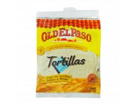 Old El Paso Burrito Tortilla 10s Regular - Case