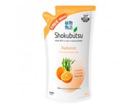 Shokubutsu Radiance Body Foam Refill Firm & Whitening - Case