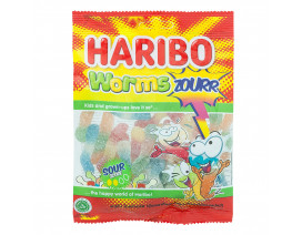 Haribo Worms Zourr Gummy Candy - Case