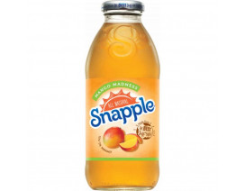 Snapple All Natural Mango Madness Juice Drink Glass Bottle - Case