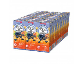 Pokka Packet Drink Ice Blueberry Tea (Order 12 Cases Get 1 Free) Case