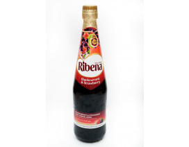 Ribena Concentrate Blackcurrant and Strawberry Cordial - Case