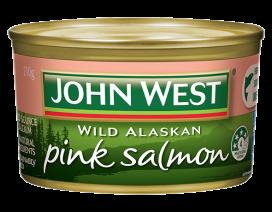 John West Pink Salmon - Case