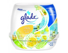 Glade Fresh Lemon Scented Gel Air Freshener - Case