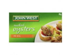 John West Smoked Oyster in Vegetable Oil - Case