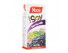 Yeo's Black Soy Milk Drink - Case