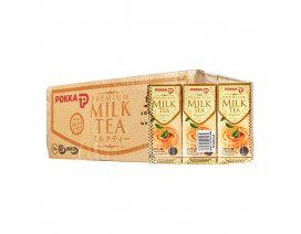 Pokka Packet Drink Premium Milk Tea Original (Order 12 Cases Get 1 Free) Case