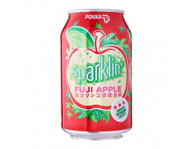 Pokka Can Drink Sparkling Fuji Apple - Case