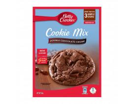 Betty Crocker Cookie Mix Double Chocolate Chunk - Case