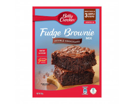 Betty Crocker Fudge Brownie Mix Double Chocolate - Case