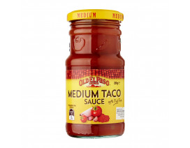 Old El Paso Taco Sauce Medium - Case