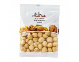 JC's Quality Foods Macadamias Salted Australian - Case