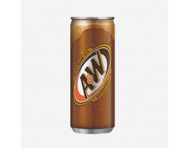 A&W Sarsaparilla Root Beer Can Drink - Case