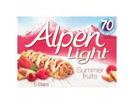 Alpen Bar Light Summer Fruits - Case
