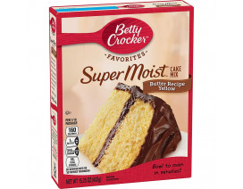 Betty Crocker Supermoist Butter Recipe - Case
