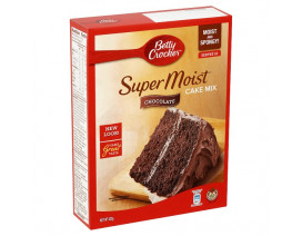 Betty Crocker Supermoist Chocolate - Case