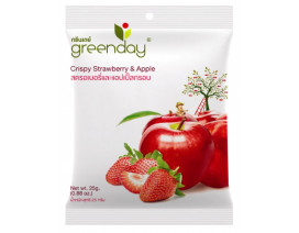 Greenday Strawberry + Apple Mix (Freeze-Dried Fruits) - Case