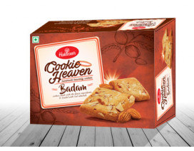 Haldiram Cookie Heaven Badam - Case