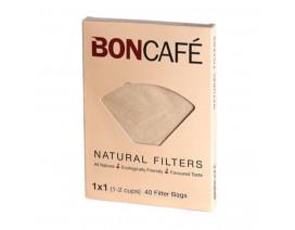 Boncafe Filterbags Natural 1 x 1 - Case