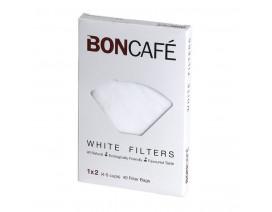 Boncafe Filterbags White 1 x 2 - Case