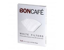 Boncafe Filterbags White 1 x 4 - Case