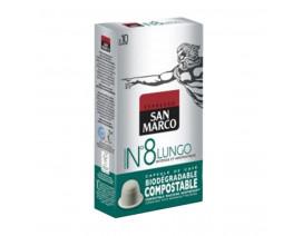 San Marco Nespresso Compatitible Capsules Lungo - Case