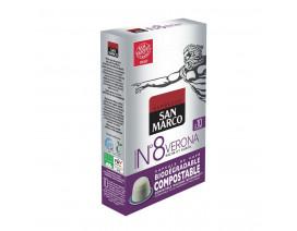 San Marco Nespresso Compatitible Capsules Verona - Case