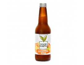 Good Earth Organic Kombucha Peach - Case