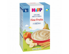 Hipp Organic Milk Pap Fine Fruits - Case