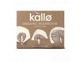 Kallo Organic Mushroom Stock Cubes - Case
