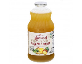 Lakewood Organic Pineapple Ginger - Case