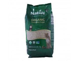 Native Organic Dark Demerara Cane Sugar - Case