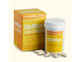 Optibac For Travelling Abroad - Case
