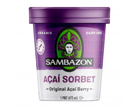 Sambazon Retail Sorbet Sweetened - Case