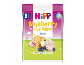 Hipp Organic Blueberry Rice Cakes - Case