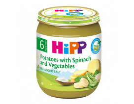 Hipp Organic Spinach With Vegetables And Potatoes - Case