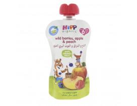 Hipp Organic Wild Berries In Apple Peach - Case