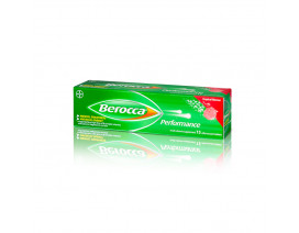 Berocca Tropical Energy Vitamin Effervescent 15 Tablets - Case