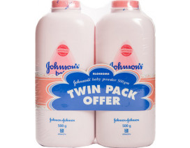 Johnsons Blossom Baby Powder Twin Pack - Case