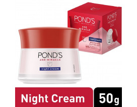 Ponds Age Miracle Deep Action Night Cream (Thai) - Case