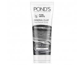 Ponds Pure White Mineral Clay Face Cleansing Scrub (Indo) - Case